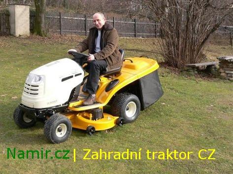 Zahradní traktor - Jan Kraus