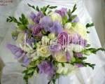svatebni kytice růží