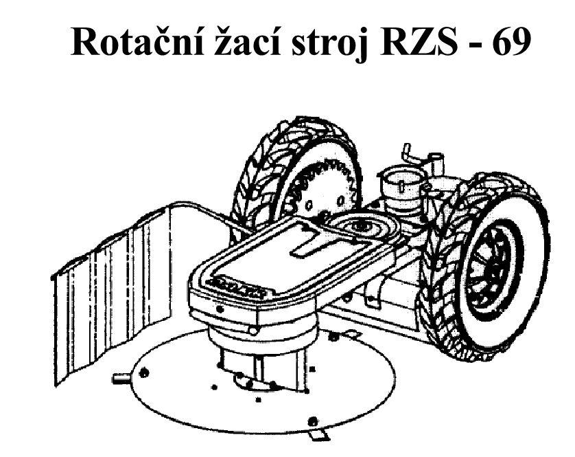 dakr žací stroj sekačka RZS 69