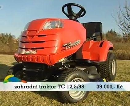 zahradní traktor mountfield TC 12.5 -98