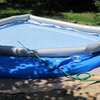 Jak postavit nadzemní nafukovací bazén