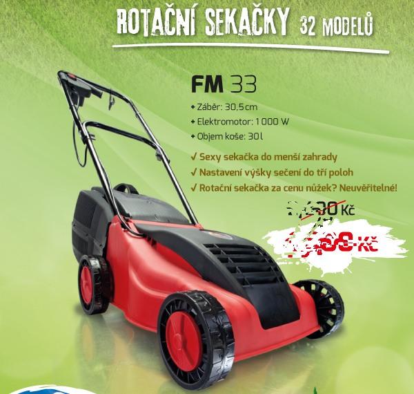 FM 33 sekačka