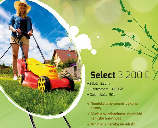 select 3200E sekačka