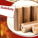 Dřevěné brikety Mountfield