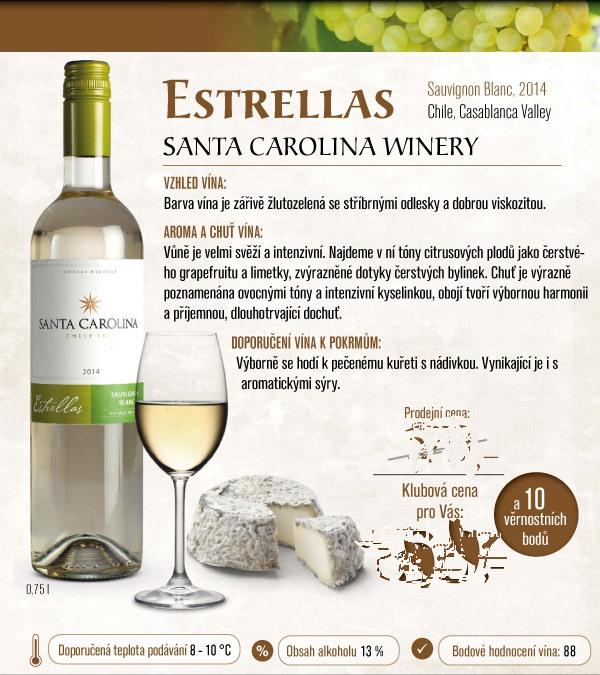 víno mountfiled Santa Carolina