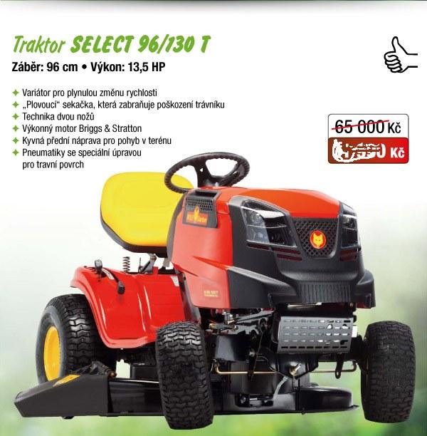 zahradní traktor Select 96/130
