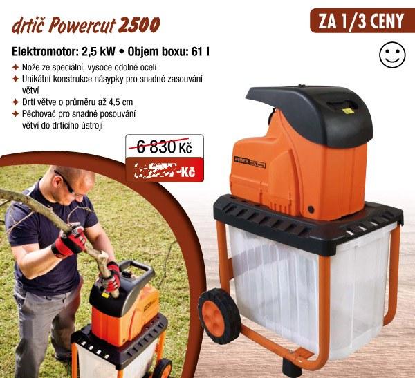 štepkovač Powercut 2500