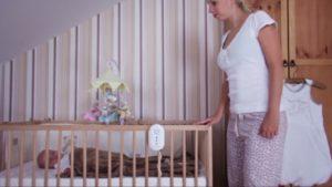 nanny monitor dechu kojenců