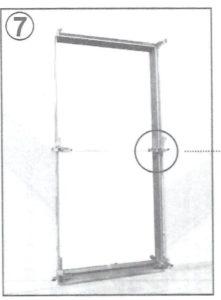 montáž zaruben dveri 7