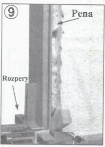 montáž zaruben dveri 9