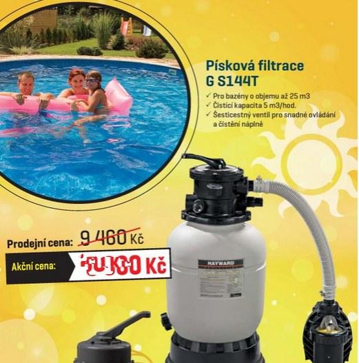písková bazénová filtrace mountfield g s144T