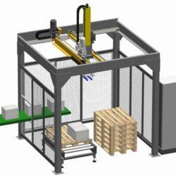 paletizační stroj Manipulátor