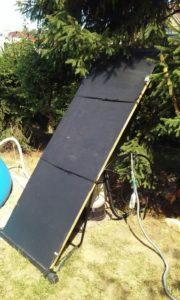 solární ohřev střechový na výšku