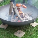 Zkušenosti se zahradním přenosným ohništěm