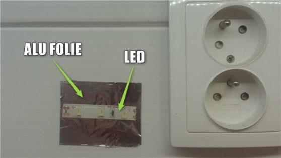 ALU folie LED