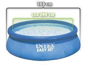 vnitřní rozměr bazénu